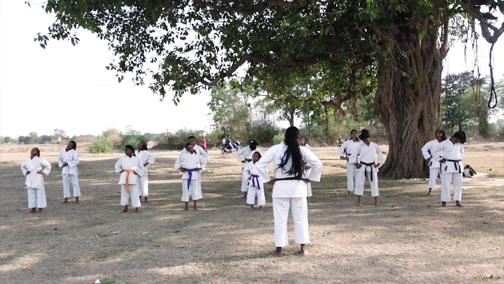 El objetivo de World Vision no es sólo que las niñas aprendan autodefensa sino darles confianza en sí mismas.