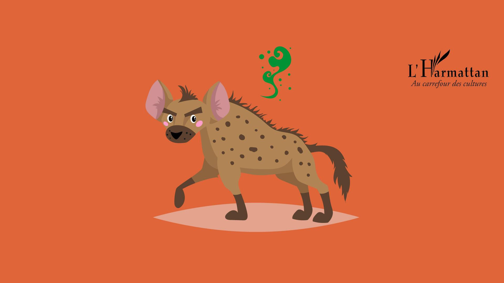 法广存档图片:鬣狗群体 女王为首Image d'archive RFI : Chez les hyènes, c'est la femelle qui domine. Ici, Hyène et le festin du roi