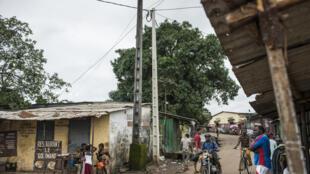 Une rue de Conakry, Guinée (photo d'illustration).