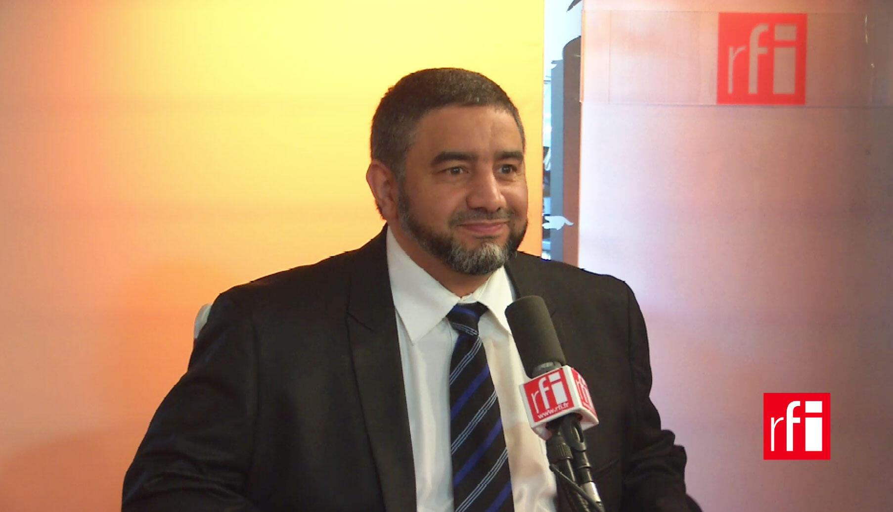 Abdelali Mamoun, porte-parole du Conseil des imams de France.