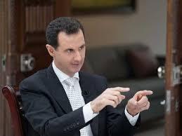 Shugaban kasar Syria Bashar al-Assad.