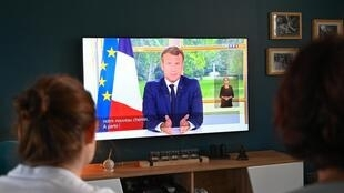 23,6 millions de Français ont regardé l'allocution télévisée du président Emmanuel Macron, le 14 juin 2020.