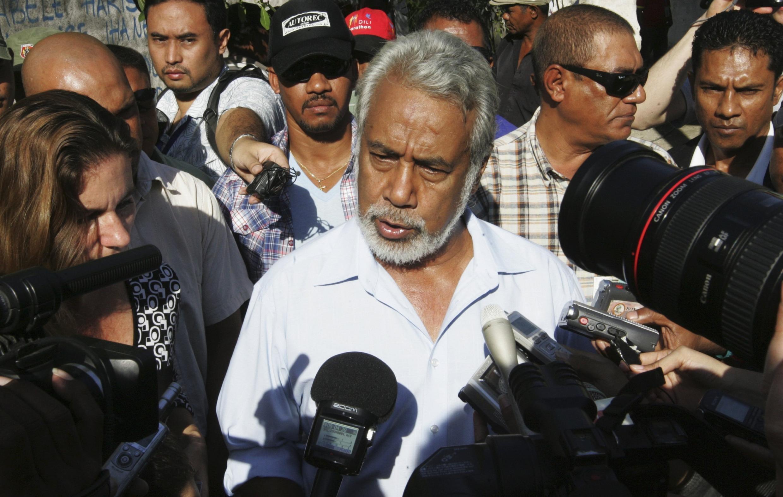 Primeiro-ministro timorense Xanan Gusmão.