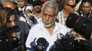 Primeiro-Ministro de Timor-Leste, Xanana Gusmão.