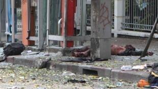 انفجار تروریستی که در شهر بانکوک رخ داد