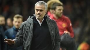 José Mourinho na Manchester United