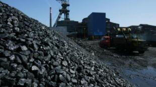 Mina de carvão no sul da Polônia, na cidade de Katowice.