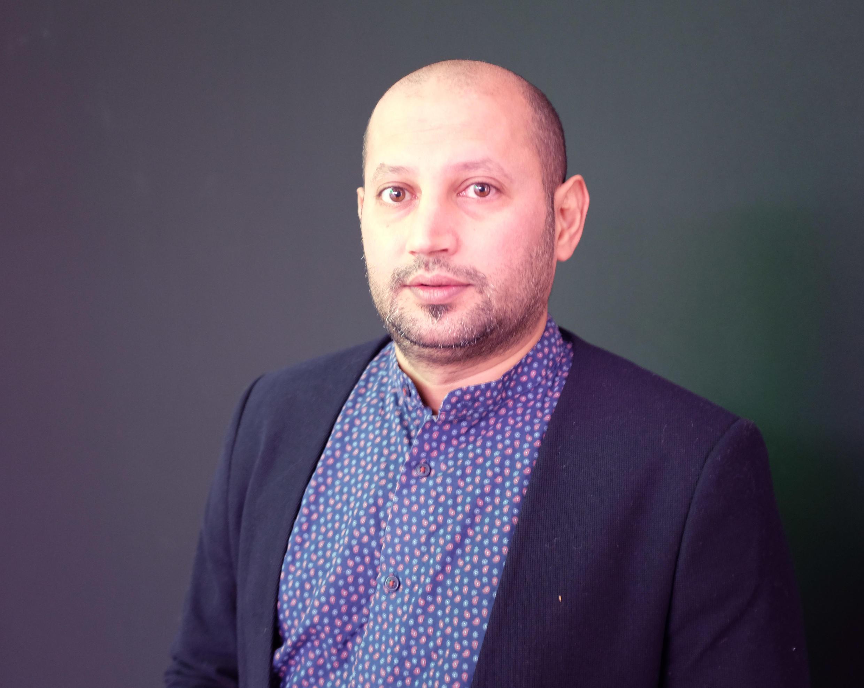 L'artiste saoudien Rashed Alshahsai.