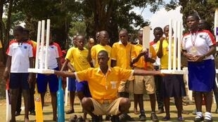 At the MTN sports centre in Kampala, three teams of schoolchildren played a cricket tournament. Their preparation went far beyond the physical, as all of these players were either partially or completely blind.