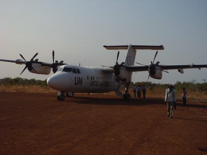 Ndege ya Umoja wa Mataifa katika eneo la Joglei nchini Sudani Kusini