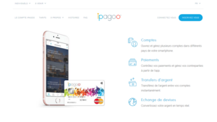 Page d'accueil du site ipagoo.fr
