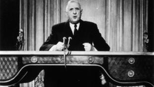 Le général Charles de Gaulle.