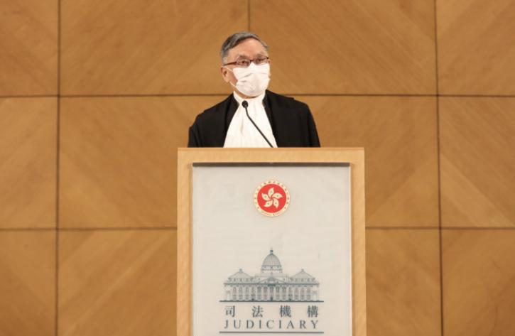 香港终审法院首席法官张举能资料图片