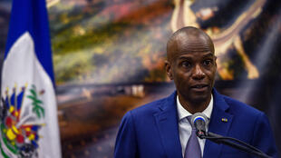 Haitian President Jovenel Moise (pictured January 2020) has been governing without any checks on his power and says he remains president until February 7, 2022 -- in an interpretation of the constitution rejected by the opposition