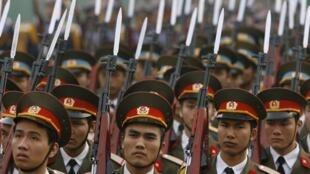 Quân đội Việt Nam thời nay.