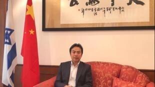 中國駐以色列大使杜偉資料圖片