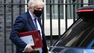 El primer ministro británico, Boris Johnson, el 19 de mayo de 2021 en Londres, Reino Unido