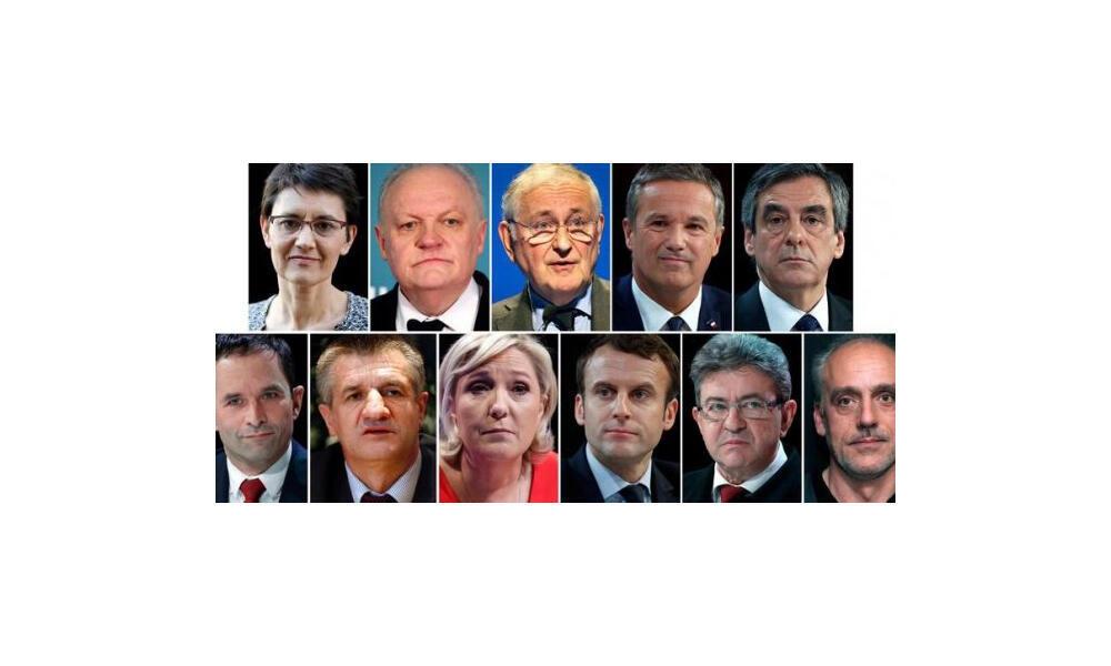 ١١ نامزد انتخابات ریاست جمهوری فرانسه