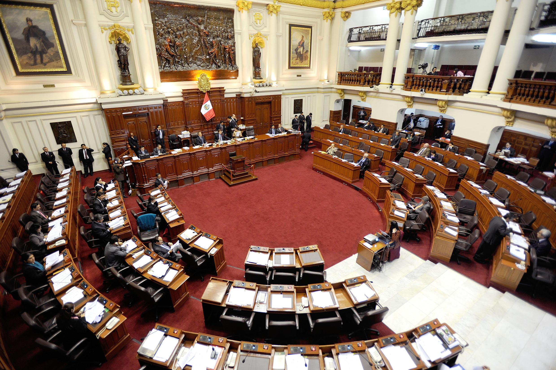 Congreso peruano, controlado por el partido fujimorista Fuerza Popular.