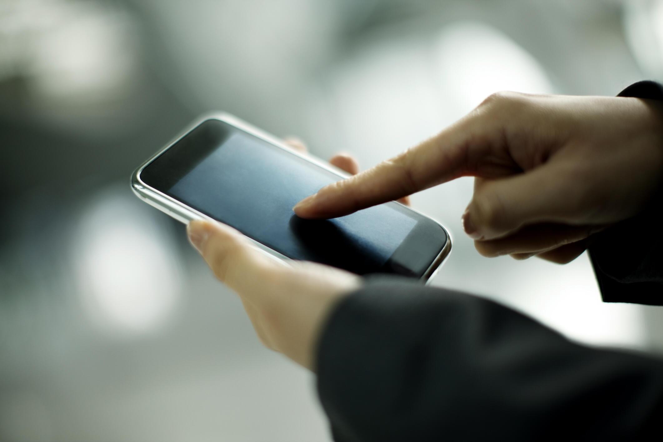 Les Palestiniens n'ont pas encore accès à internet via leur téléphone mobile. (photo d'illustration)