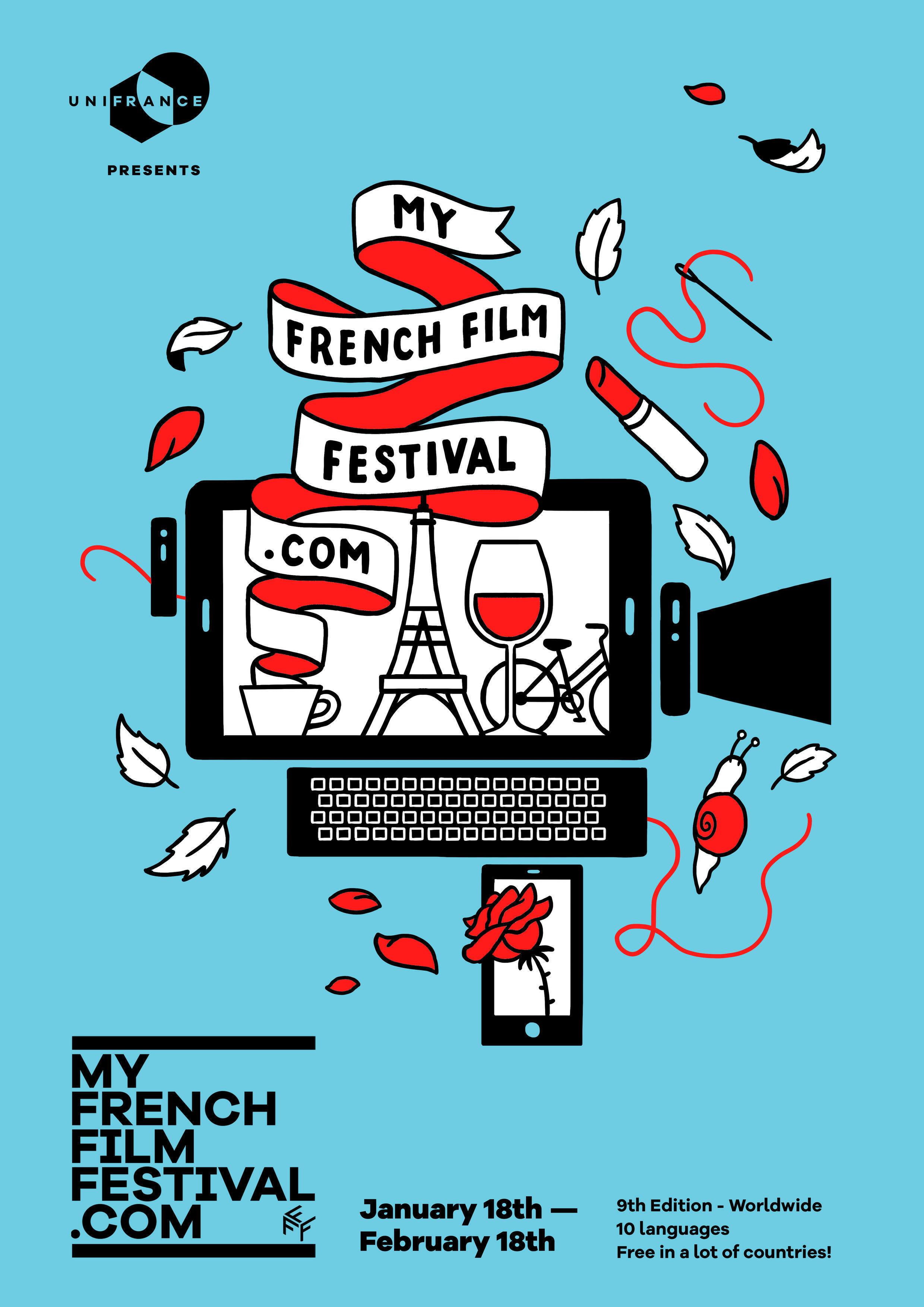 MyFrenchFilmFestival disponibiliza novidades do cinema francês gratuitamente em boa parte do mundo