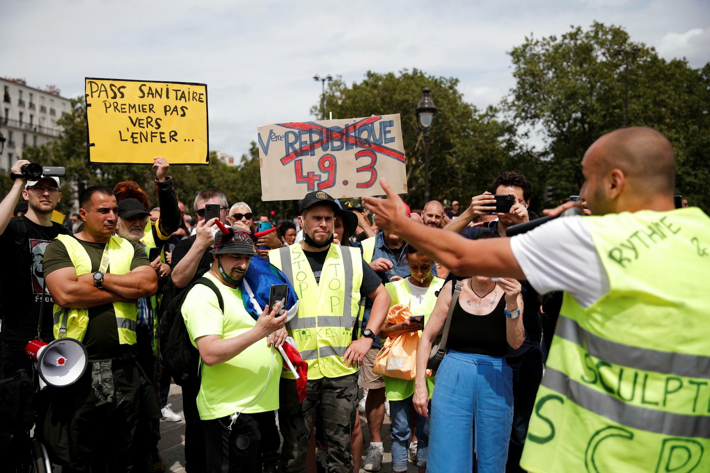 France manifestations passe sanitaire