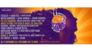Affiche 2017 Jazz'n'Klezmer.