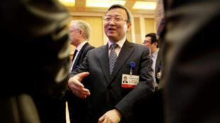 中国商务部副部长王受文近照