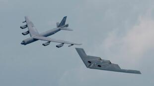 دو بمبافکن استراتژیک نیروی هوایی آمریکا
