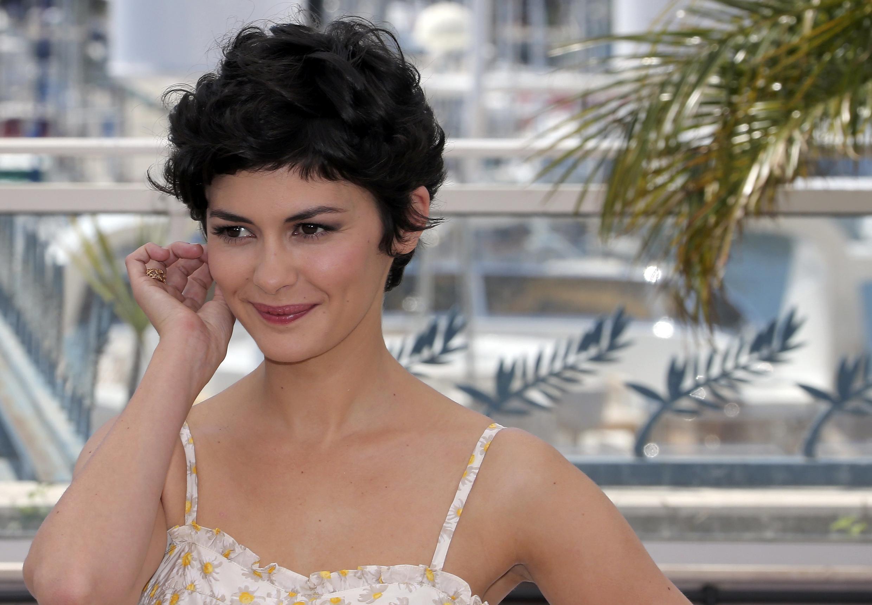 Diễn viên Pháp Audrey Tautou thành danh nhờ bộ phim Amélie Poulain của đạo diễn Jean Pierre Jeunet