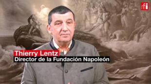 Thierry Lentz, director de la Fundación Napoleón.