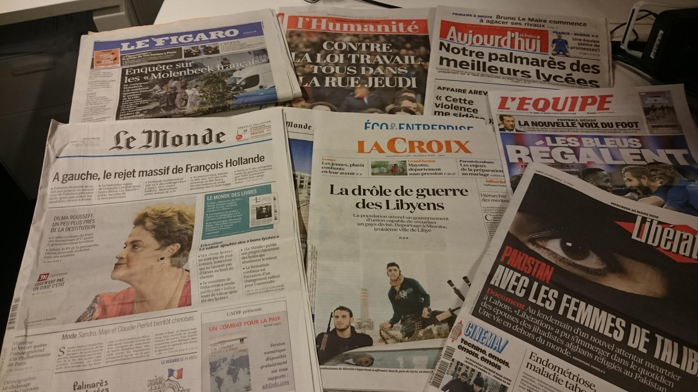 Diários franceses 30.03.2016
