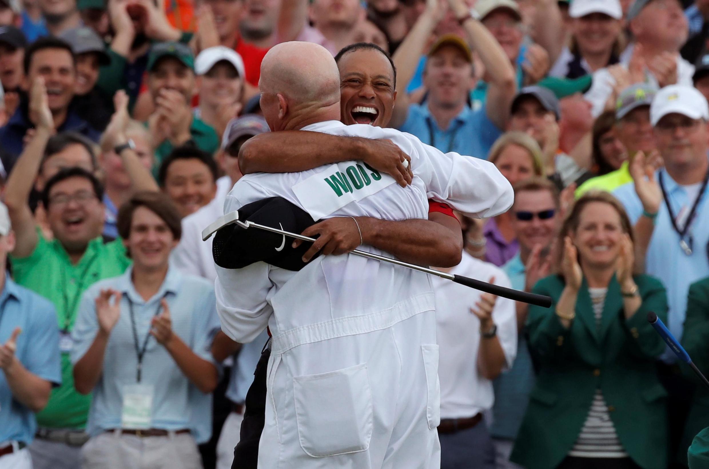 « C'est le plus beau come-back de l'histoire du sport ! Félicitations Tiger Woods. » Stephen Curry, basketteur.