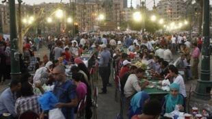 Place Tahrir, le 12 juillet 2013.