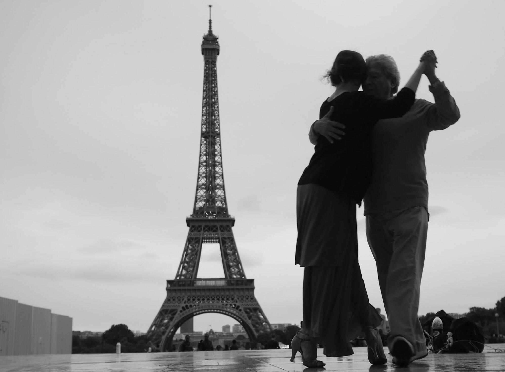 Trocadéro - Paris - Tango - Danse