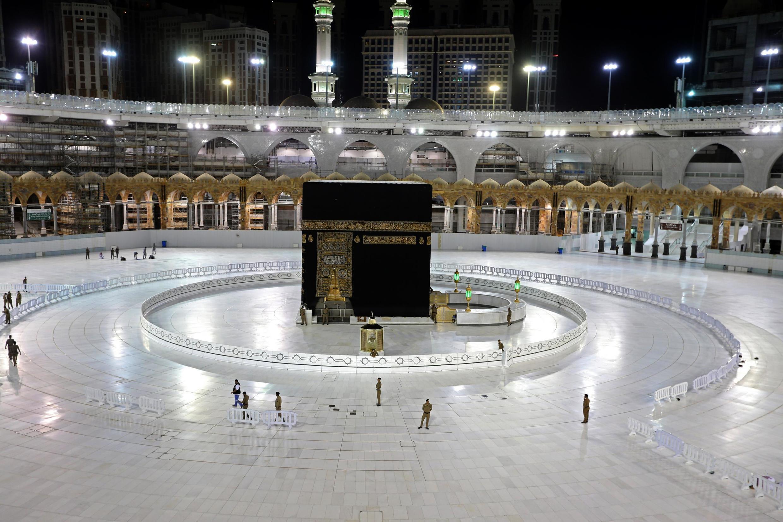 Masallacin Makka mai alfarma da ke Saudiya