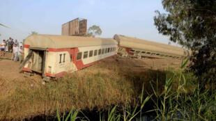 Trem Egito Acidente