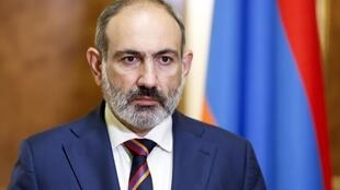 Nikol Pachinian, le Premier ministre de l'Arménie, le 27 septembre 2020 à Erevan.