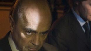 Pierre Falcone, le principal accusé, soupçonné d'avoir distribué des pots-de-vin à plusieurs personnalités.