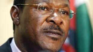 Moses Wetangula  mmoja wa viongozi wa NASA na kiongozi wa walio wachache katika bunge la Senate