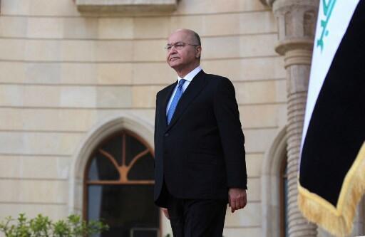 O Presidente do Iraque, Barham Saleh, inicia esta segunda-feira uma visita de dois dias a França.
