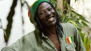 Alpha Blondy, grande figure de reggae africain.