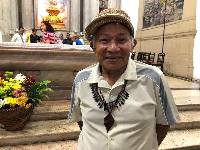Indígena da etnia Sateré Mawé, Honorato Lopes Trindade denuncia os riscos para a Igreja na sua região com a falta de religiosos.