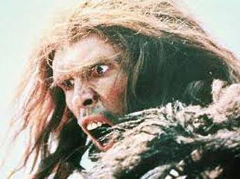 Homme préhistorique (photo tirée du film «La guerre du feu» de Jean-Jacques Annaud, sorti en 1981).