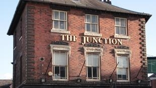 The Junction, a pub in the West Midlands borough of Sandwell, a pro-Brexit consituency bordering the industrial town of Birmingham.