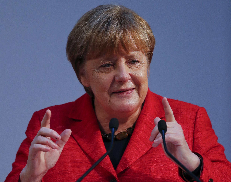 Thủ tướng Đức Angela Merkel nhấn mạnh cần duy trì quan hệ tốt với Thổ Nhĩ Kỳ. Ảnh ngày 06/03/2017.