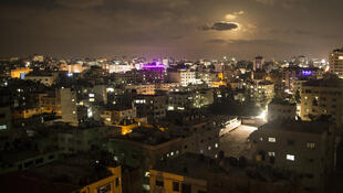 Gaza by night, August 2017