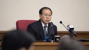 O vice-ministro das Relações Exteriores da Coreia do Norte, Han Song-ryol, exige a extradição de suspeitos de terem preparado ataque contra o líder do país, Kim Jong-un.