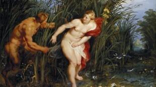 « Pan et Syrinx », Pierre Paul Rubens, 1617.