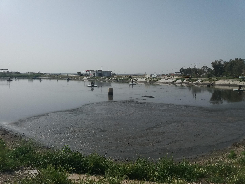 Sheikh Ejleen waste water treatment plant, Gaza City